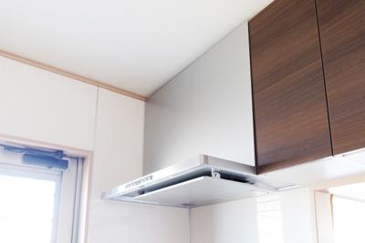 キッチンの換気扇の写真